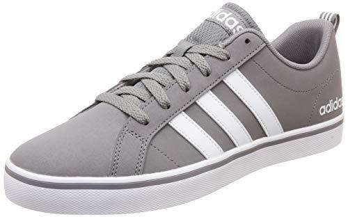 adidas Herren Vs Pace Basketballschuhe, Grau (Grey Three F17/Ftwr White/Core Black Grey Three F17/Ftwr White/Core Black), 40 EU