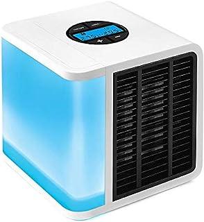 Antarctic Air Cooler Digital LCD Screen 5 Speed Adjustment USB Portable Fan Personal Air Cooler - White