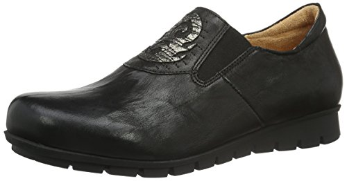 Think Damen MENSCHA Slipper, Schwarz (SZ/KOMBI 09), 39 EU
