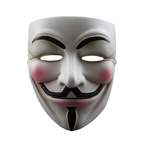 NEVLANTII V for Vendetta Anonymous Guy, V for Vendetta Mask, Size One Size