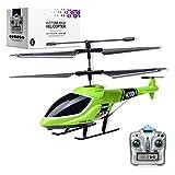 Elicottero telecomandato luci LED 2.4G, decollo/atterraggio con un solo tasto per elicottero ad altezza fissa a 3,5 canali, drone da interno, regali giocattolo per elicottero rc per bambini e adulti
