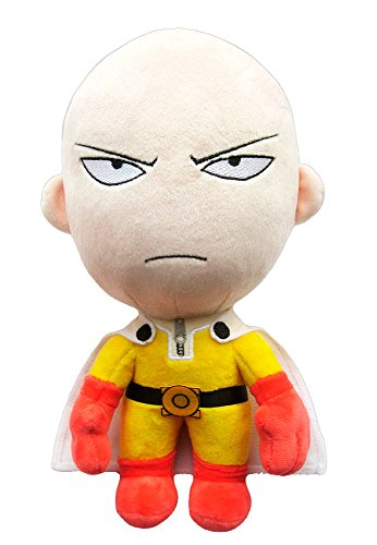 Sakami Merchandise SAK77008 One Punch Man - Saitama - Angry Version Plüsch Figur, 28 cm