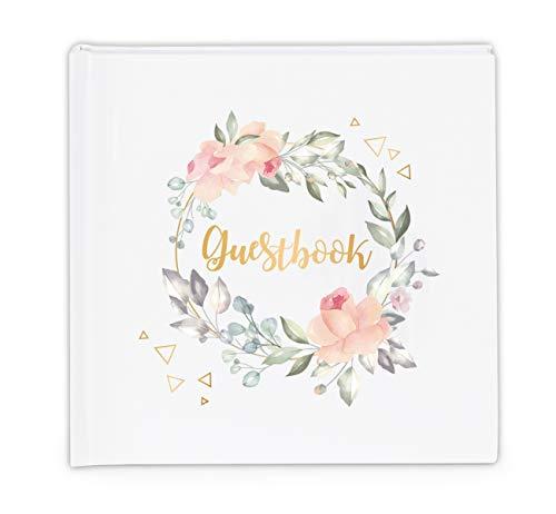 Sweelov Gästebuch Hochzeitsbuch 100 Seiten hochzeitsgeschenk für brautpaar Hochzeits-Album Taufe...