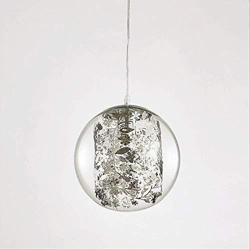 Kronleuchter Moderne Art-Deco-Deckenlampe mit Glaslampenschirm, Blumendekoration, Kronleuchter, Restaurant, Studienflur, Schlafzimmer, Bar, Café