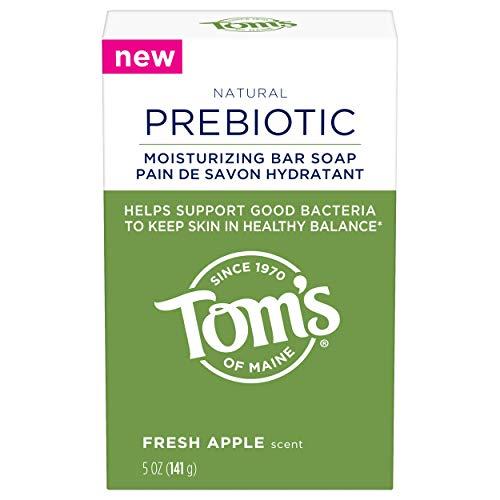 Tom#039s of Maine Prebiotic Moisturizing Natural Bar Soap Fresh Apple 5 oz