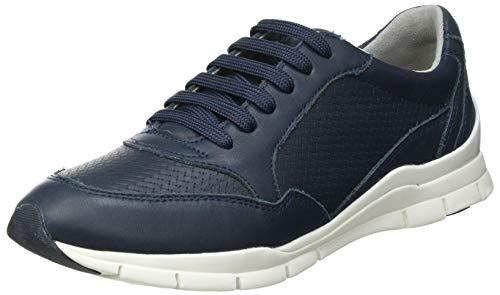 Geox D Sukie A, Zapatillas Mujer, Azul Marino, 41 EU