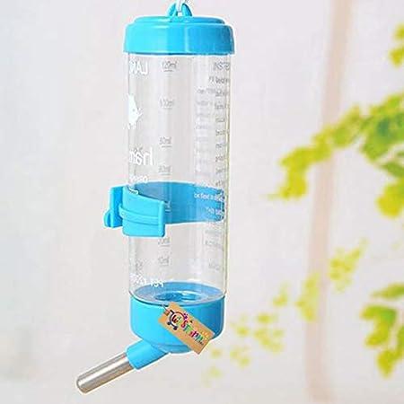 Western Era Hanging Water Bottle, Dispenser Feeder, No Drip, Leak Proof, Fit for Hamster, Guinea Pig, Rabbit, Dog (Random)