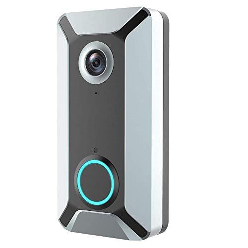 ZUEN Wi-Fi Inteligente Timbre De La Puerta, Video Portero Eléctrico Seguridad App...
