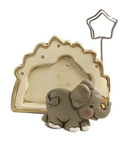 Mandorle by Paben 12 stuks gastgeschenken voor foto, met olifant, van kunsthars