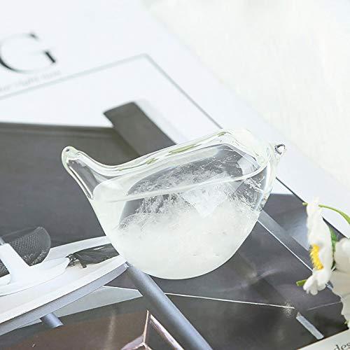 Tendlife Storm Glass, meteorólogo, estación meteorológica, barómetro, Predictor meteorológico, Moda Creativa, para Escritorio de Oficina y decoración del hogar
