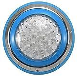 YLJYJ Ip68 luz LED para Piscina 54W lámparas Azules Impermeables con...