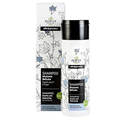 Natyr Bio Shampoo mit Aloe Vera und Reisöl 200 ml -...