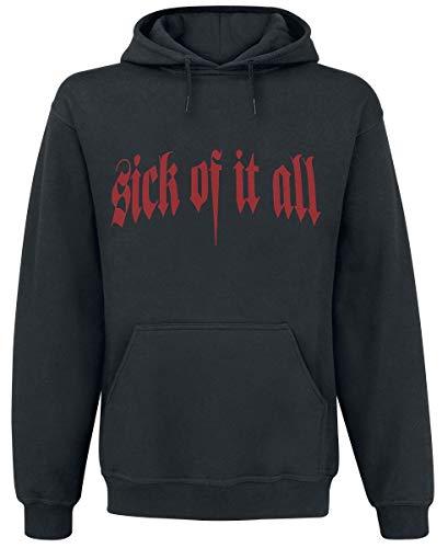Sick Of It All Eagle Kapuzenpullover schwarz XL