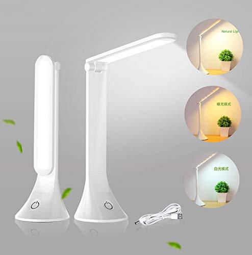 3 aanraakmodus USB opklapbare tafel lamp oplaadbare LED-lamp verstelbare lessenaar licht afscherming ogen om te studeren kinderarbeid