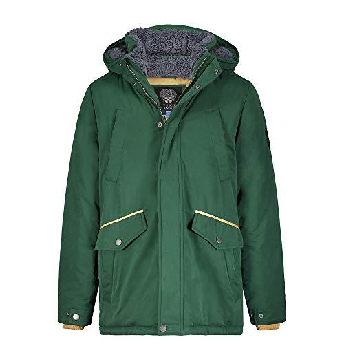 Vince Camuto Boys' Warm Hooded Parka Coat Jacket, Hunter Green, 18
