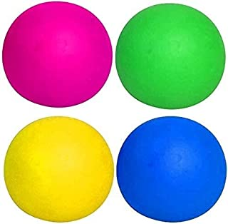 FANPING 4 Color Fluorescent Sticky Balls Sticky Wall Balls Decompression Toys Globbles Sticky Balls Stress Relief Wall Bal...