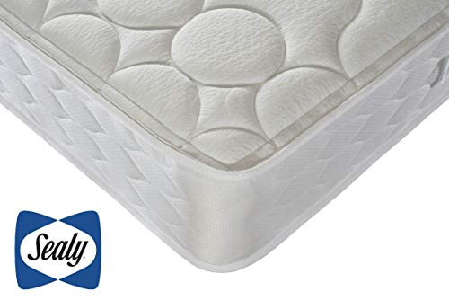 Sealy Posture Support Ortho Mattress,Posturepedic Technology, Core Support Springs, Temperature Regulating, Firm Feel, Super King