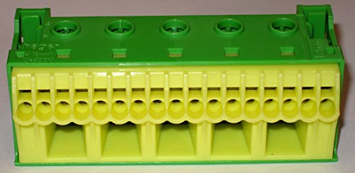 Hager KN22E Grey, Yellow Terminal Block – Terminal Blocks