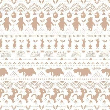Winnie The Pooh Wonder and Whismy Collection Premium Quality 100% Cotton Sold by The Yard.