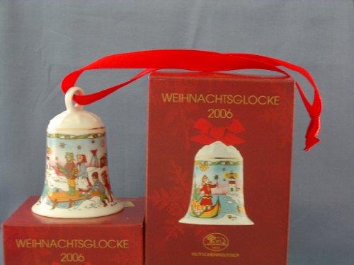 Hutschenreuther - Weihnachtsglocke 2006 - Glocke aus Porzellan - NEU - OVP