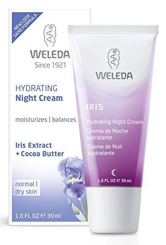 WELEDA Crema de Noche Hidratante de Iris 30 ml