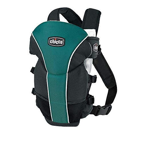 Chicco Ultrasoft 2-Way Infant Carrier Soft Micro-Vented Lining - Chakra Green Blue Teal/Black