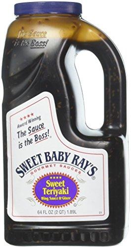 Sweet Teriyaki Wing Glaze & Sauce by Sweet Baby Ray's, 64 oz. jug