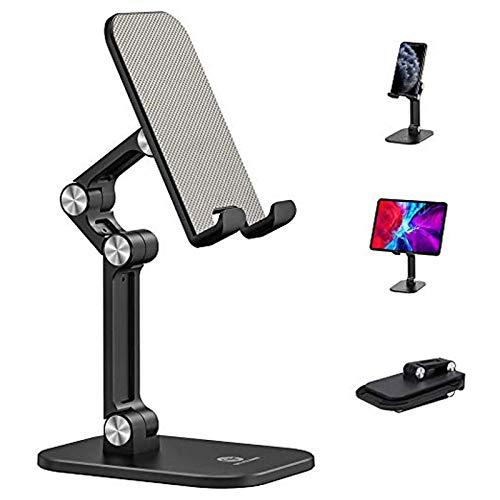 Henpone Soporte ajustable para tableta, teléfono móvil, escritorio, tableta, smartphone, para tablet de 4 a 12,9 pulgadas