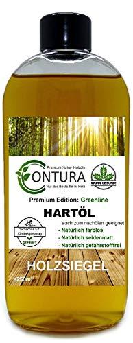 250ml Contura Premium Hartöl Holzpflegeöl Objektöl Holzpflege Holzöl Tisch Arbeitsplatten Möbelöl Holzschutz nachölen auffrischen pflegen Holzpflegeset Pflegemittel