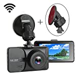 WHOLEV Dash Cam 1080P FHD DVR Car Driving Recorder 3' LCD Screen 170° Wide Angle,Dashboard Camera,G-Sensor,WDR,Loop Recording,Motion Detection for Cars