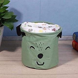 MJY Panier à linge sac de dessin animé beaux paniers de rangement de vêtements vêtements Sacs de baril Enfants Panier de r...