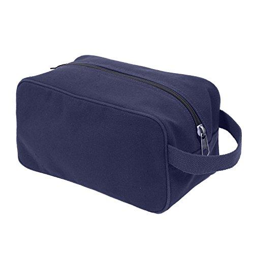 Rothco Canvas Travel Kit, Navy Blue