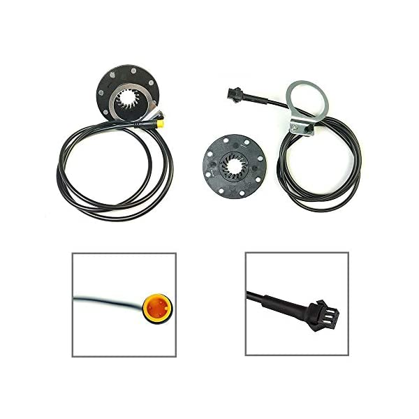 Electric Bikes RICETOO Electric Bicycle Pedal KT-BZ-4 (8) 8 Magnets E-bike PAS System Easy to Install Assistant Speed Sensor…