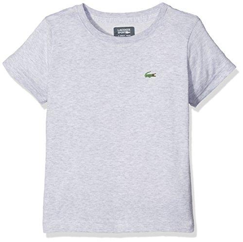 Lacoste Jungen Tj8811 T-Shirt, Grau (Argent Chine), 16 Jahre (Herstellergröße: 16A)