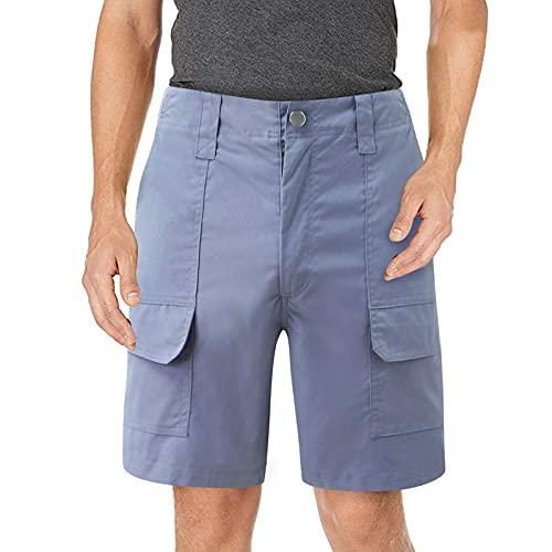 DeaAmyGline Cargohose Herren Kurz Arbeitshosen Shorts mit Tasche Lässige Sommer Kurze Hose Cargo Sportshorts Männer Sporthose Freizeitshorts Arbeitsshorts Chino Hose Laufshorts Wandershorts