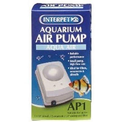 Interpet Aquarium Air Pump with Plug
