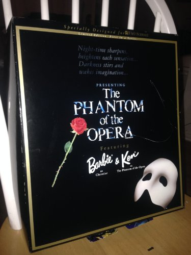 Barbie and Ken Phantom of the Opera Fao Schwartz Limited Collectible Edition