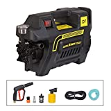 Aimex Heavy Duty 1800W Electric High Pressure Washer with Copper Winding with Hose Pipe and Foam Bottle