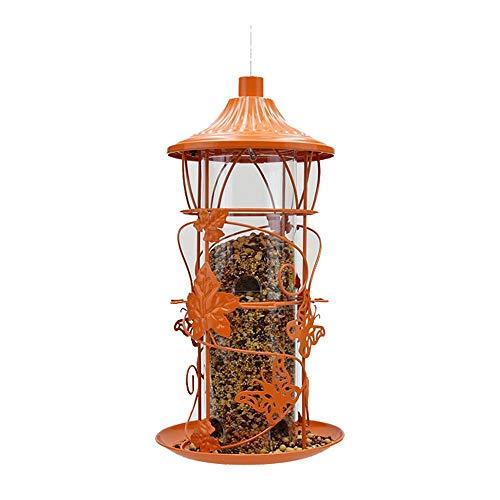 Comedero De Pájaros Para Semillas Alimentador De Pájaros Del Pájaro Del Jardín For Mascotas Gorrión Paloma Paloma Pájaro Suministro De Alimentos Al Aire Libre Gran Idea De Regalo Para Los Amantes De L