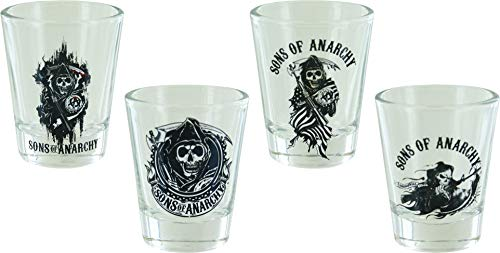 Animewild Sons of Anarchy Shot Glass Set
