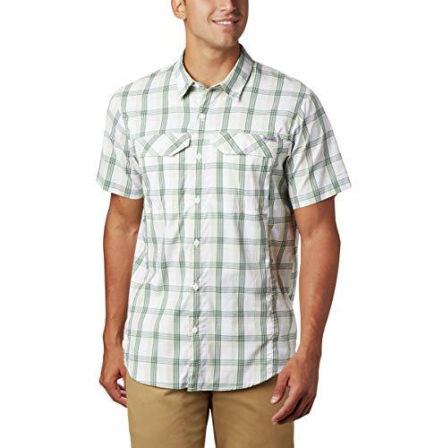 Columbia Silver Ridge Lite Camisa de Manga Corta para Hombre, Silver Ridge Lite PlaidTM - Manga Corta, Hombre, Color Cuadros de caña, tamaño 2XT