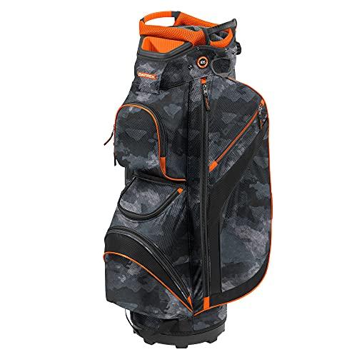 Datrek DG Lite II Cart Bag, Urban Camo/Orange/Black