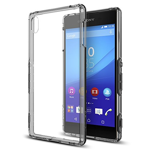 Spigen Ultra Hybrid Sony Xperia Z3+ Case with Air Cushion Technology and Hybrid Drop Protection for Sony Xperia Z3+ 2015 - Space Clear