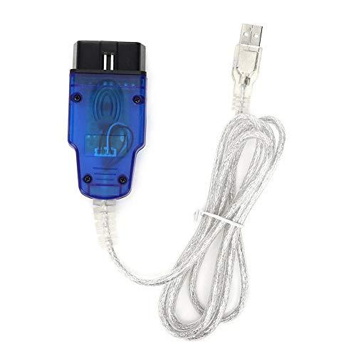 Cable de diagnóstico del coche, herramienta del escáner de diagnóstico de la cubierta de la huella dactilar de la línea de prueba del USB VAG409.1