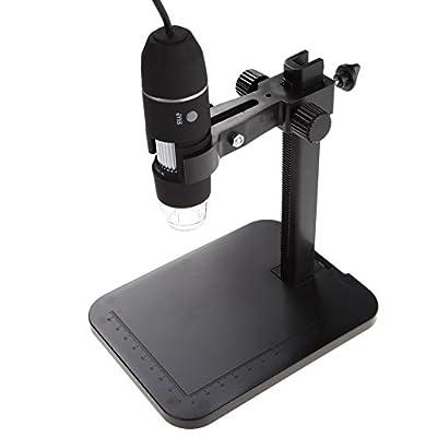econoLED 8 LED 2MP USB Digital Microscope Endoscope Magnifier Camera+Lift Stand US best seller