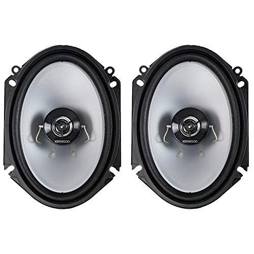 Kenwood KFC‑C6866S 6x8 2‑Way 250 Watt Car Stereo Speakers - Pair