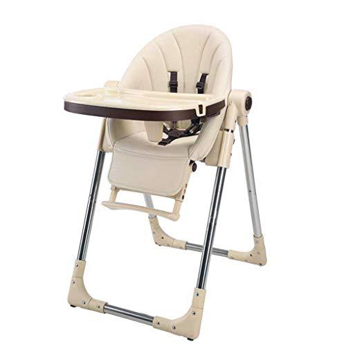 Household kinderstoel, inklapbaar, verstelbaar, eettafel met afneembaar dienblad, comfortabele baby, stroomvoorziening hoge stoel