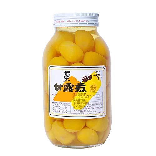熊本県産栗100%使用 国産 栗甘露煮 1.1kg (固形量650g) 漂白剤不使用