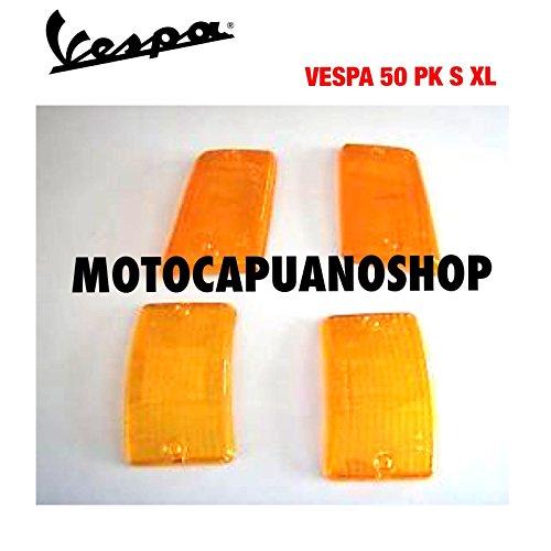 Kit de pneus clignotants orange pour Vespa PK XL 50 125