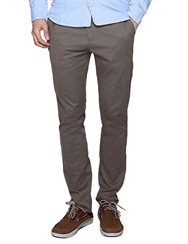 Match Men's Slim Fit Casual Pants (34, 8083 Light khaki)